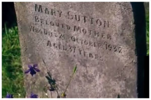 Tumba de Mary Sutton