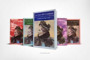Vista Libros Amalia Domingo Soler con La Luz del Camino al frente