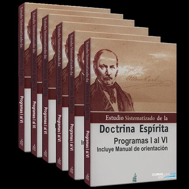 Portadas Estudio Sistematizado de la Doctrina Espírita